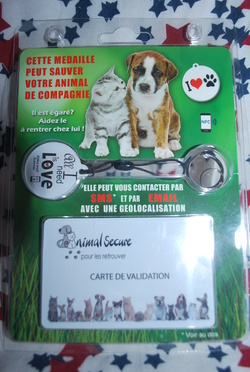 Médaille Animal Secure