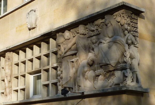 Résidence Lucien Paye - Sculpture