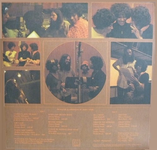 "The Supremes : Album "" The Supremes Produced & Arranged By Jimmy Webb "" Motown Records M 756 [ US ]"