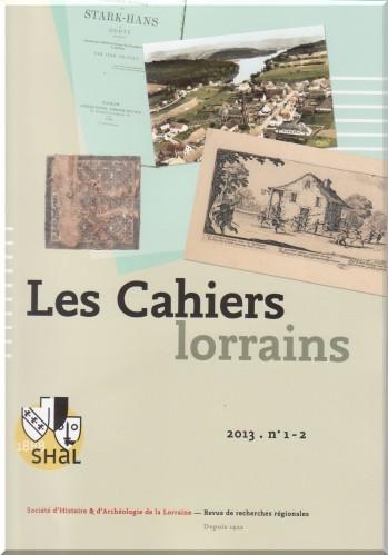 Cahiers lorrains1