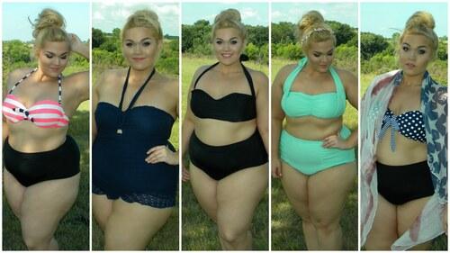 """""""Les grosses filles n'attendent pas votre avis pour se mettre en bikini"""""""