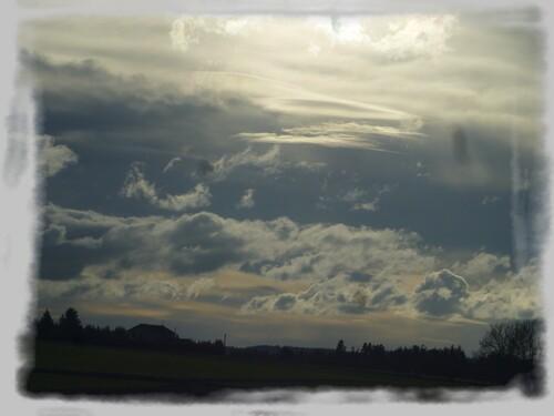 Mes ciels de novembre!
