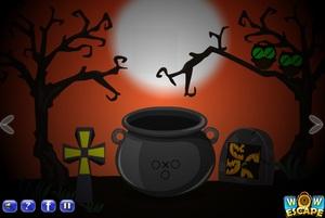 Jouer à Halloween trick or treat escape 1