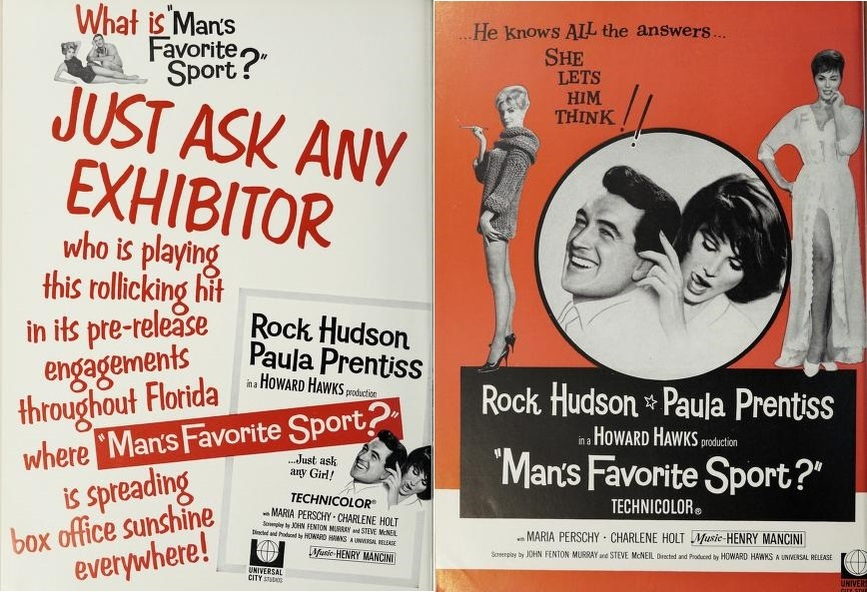MAN'S FAVORITE SPORT BOX OFFICE USA 1964
