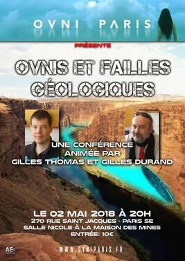 Le 02 mai 2018, Gilles Durand et Gilles Thomas à Ovni Paris
