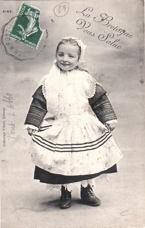1908 - Petite Bretonne, ambulant de Penmarch à Pont l'Abbé
