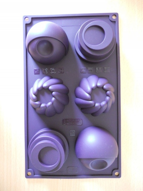 "Moules silicone "" formes modernes """