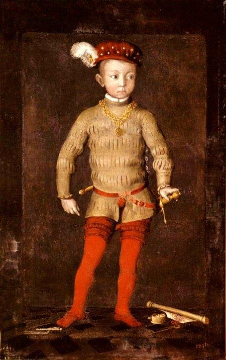 Portrait présumé de Henri IV enfant (Musée du château de Pau)