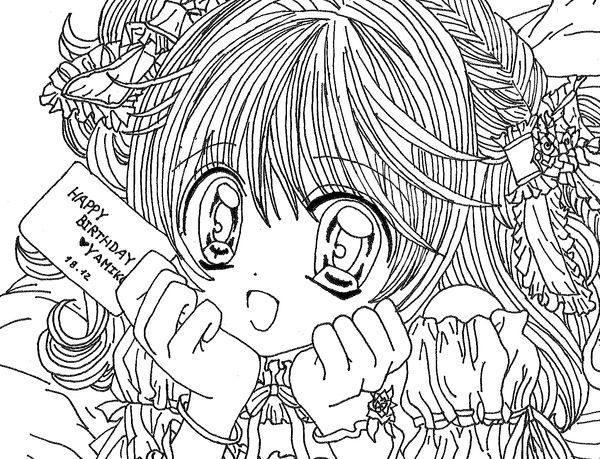 Coloriage lucie eternal dream of one jewel - Coloriage lucie ...