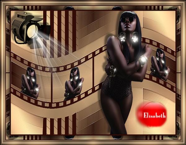 """Ma réalisation du tuto """"sur l'écran noir"""" de Manany"""