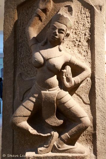 Musée de la sculpture Cham, Apsara