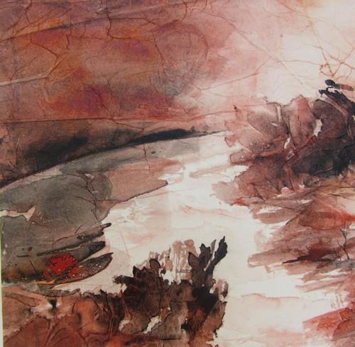 Beautés fragiles: un tableau qui sera à l'exposition d'automne des Artistes de Hudson