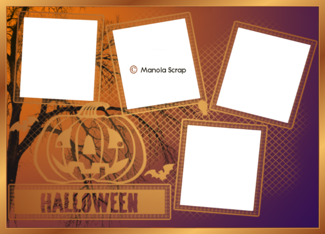 Cadres masques d' Halloween page 3