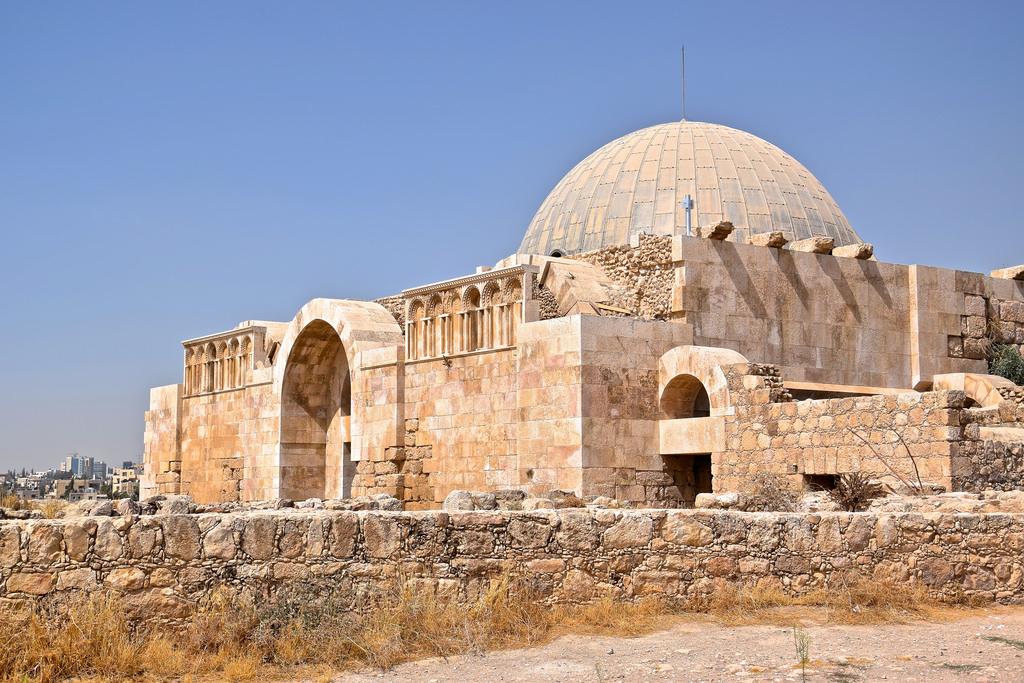 La citadelle d'Amman, symbole du passé