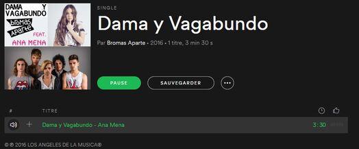 Bromas Aparte sortent une nouvelle version de 'Dama y Vagabundo' avec Ana Mena
