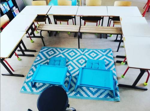 La classe flexible, sans matériel pour te lancer