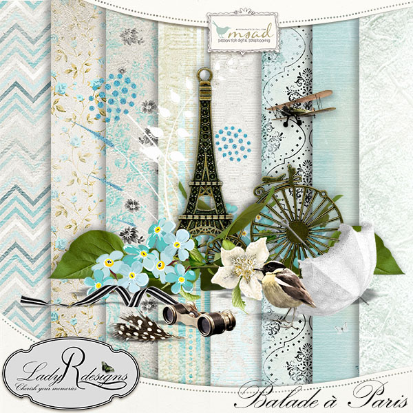 """Balade à Paris"" de LadyRdesigns"