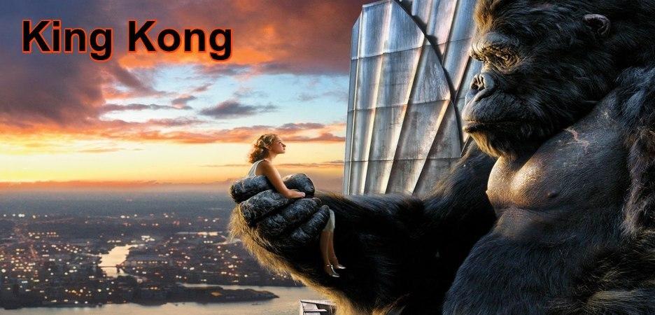"""King Kong : New York, 1933. Ann Darrow est une artiste de music-hall dont la carrière a été brisée net par la Dépression. Se retrouvant sans emploi ni ressources, la jeune femme rencontre l'audacieux explorateur-réalisateur Carl Denham et se laisse entraîner par lui dans la plus périlleuse des aventures... Ce dernier a dérobé à ses producteurs le négatif de son film inachevé. Il n'a que quelques heures pour trouver une nouvelle star et l'embarquer pour Singapour avec son scénariste, Jack Driscoll, et une équipe réduite. Objectif avoué : achever sous ces cieux lointains son génial film d'action. Mais Denham nourrit en secret une autre ambition, bien plus folle : être le premier homme à explorer la mystérieuse Skull Island et à en ramener des images. Sur cette île de légende, Denham sait que """"quelque chose"""" l'attend, qui changera à jamais le cours de sa vie...-----... Origine du film : Américain, Néo-zélandais, Allemand Réalisateur : Peter Jackson Acteurs : Naomi Watts, Jack Black, Adrien Brody Genre : Fantastique, Aventure Durée : 3h 00min Date de sortie : 14 décembre 2005 Année de production : 2005 Note presse :  4,0/5 Note spectateurs :  3,9/5 (33457)"""