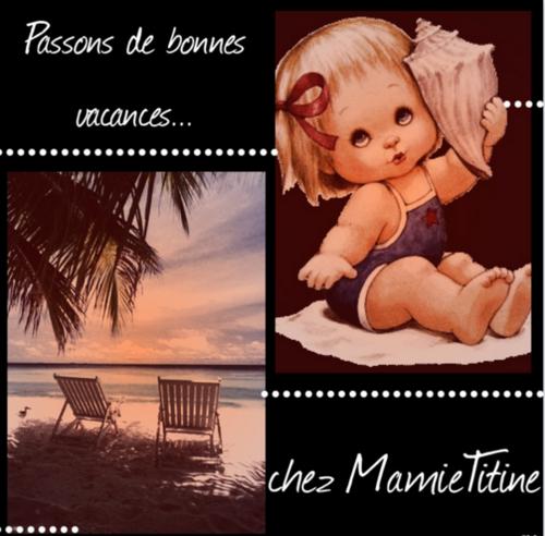 Bienvenue chez Mamietitine....Welcome to Mamietitine....