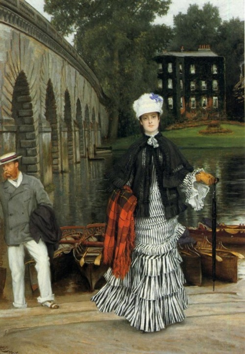 The Return from the Boating Trip by James Jacques Joseph Tissot, 1873 France