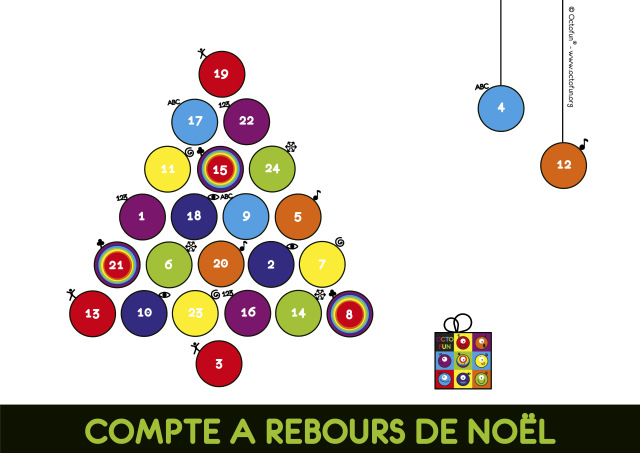 Bon plan 72 calendrier de l'avent des intelligences multiples