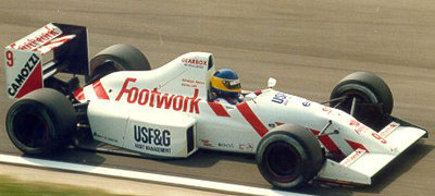 Footwork - Ford Cosworth DFR 3.5 V8