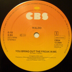 Waldo - You Bring Out The Freak In Me
