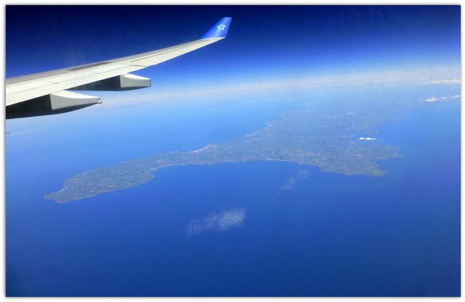 -Haut-dessus de l'Atlantique.