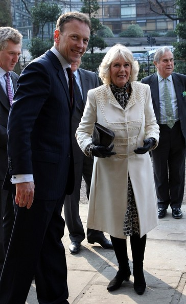 Camilla au musée du  jardin