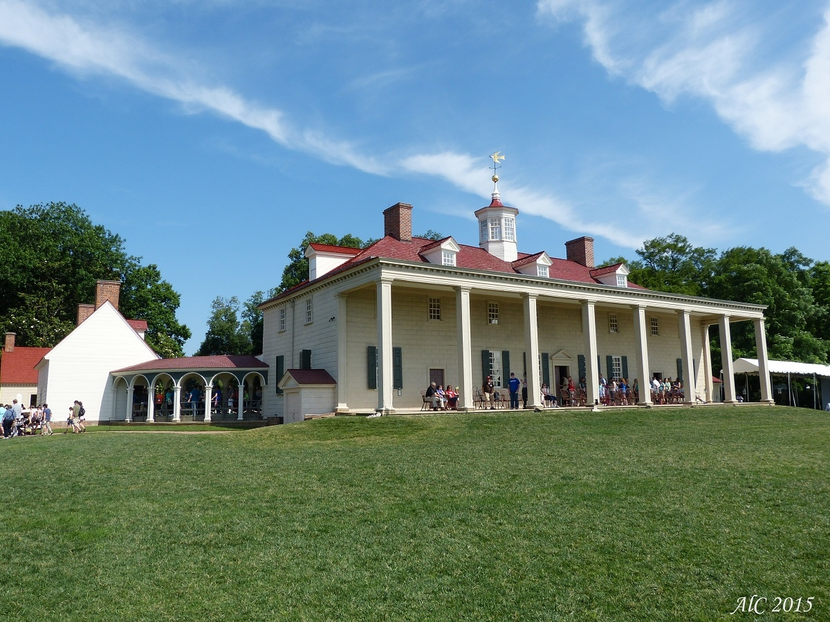 George Washingtion's house at Mont Vernon