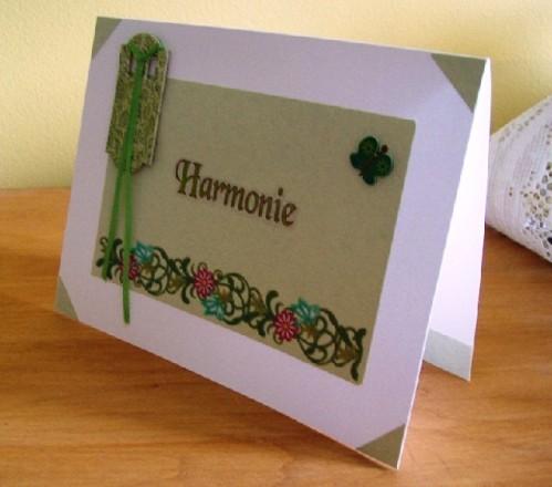 Carte harmonie 1a - 2012