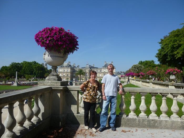 Palais du Luxembourg - Le Sénat au fond