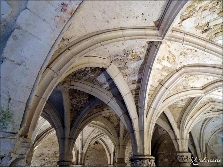 Photo Salle Capitulaire de l'abbaye de St Michel de l'Herm