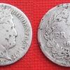 demi franc louis philippe 1er 1843 argent
