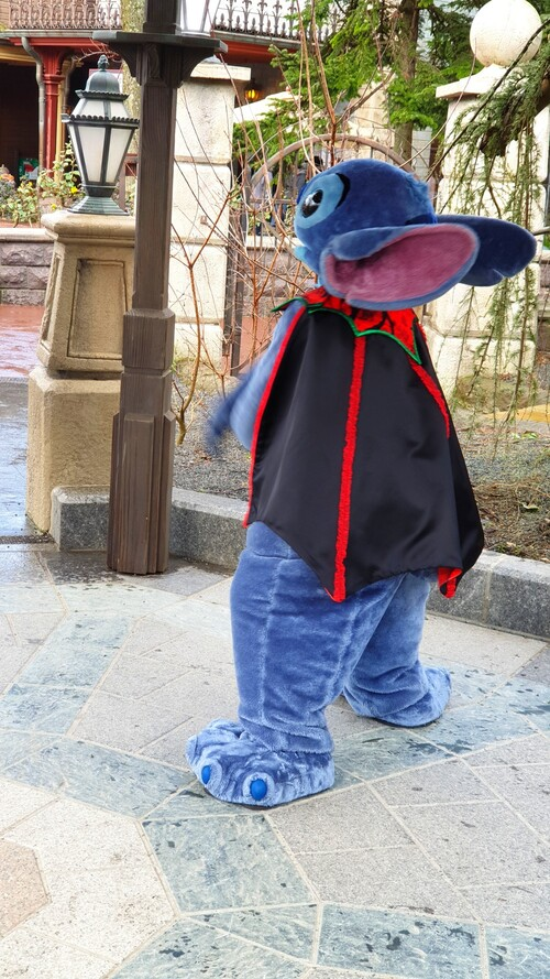 stitch à Disneyland Paris