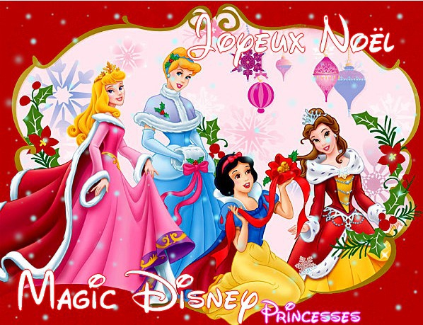 6 d cembre t l charge un fond d 39 cran sp cial no l magic disney princesses. Black Bedroom Furniture Sets. Home Design Ideas