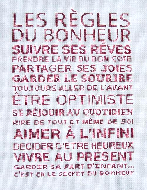 "SAL éphémère ""Les règles du bonheur"" - 7"
