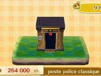 Marie au premier guichet (rénovation de la mairie), Justine (poste de police au choix), Thibou (le café)
