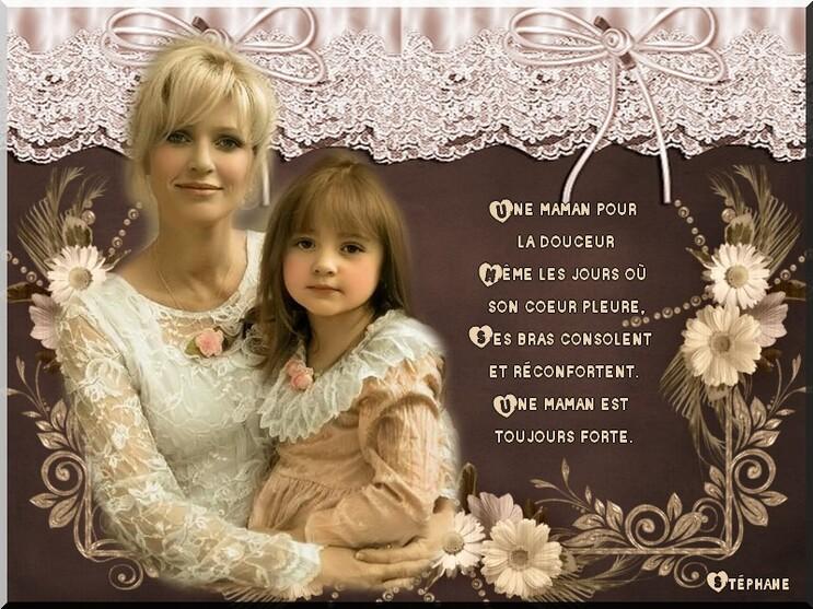 Défi  fête des mamans blog en partage (Lilou) & Crise déco )
