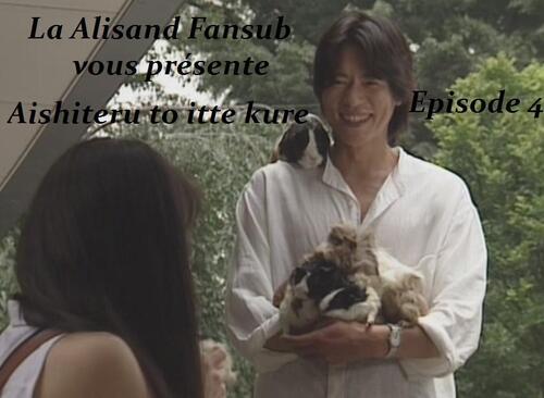 Aishiteru to Itte kure Episode 4