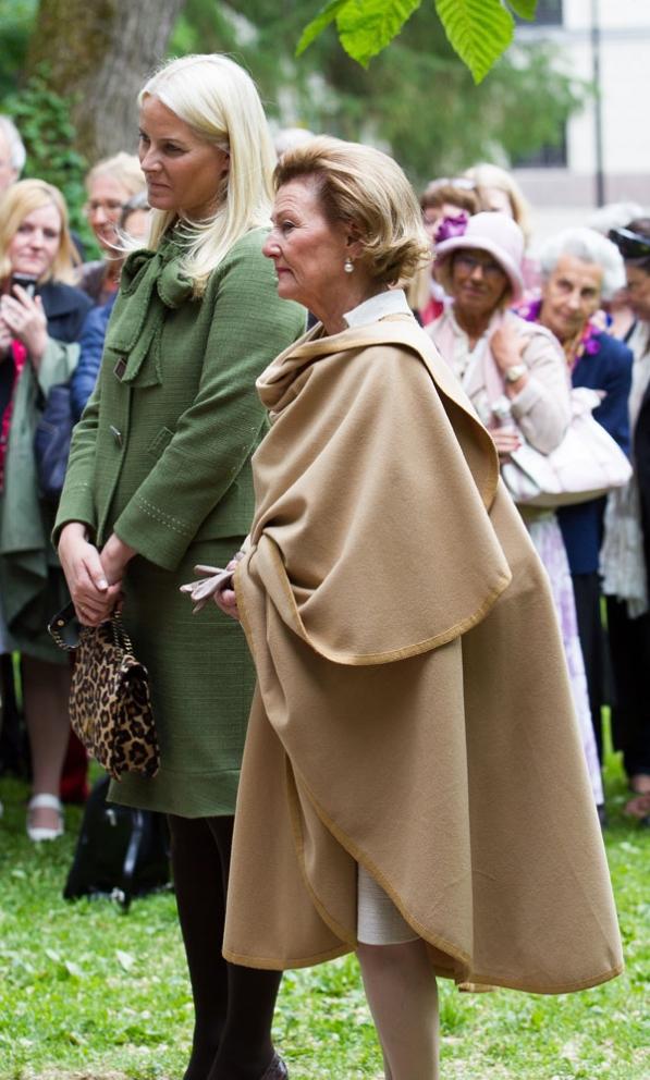Sonja et Mette Marit