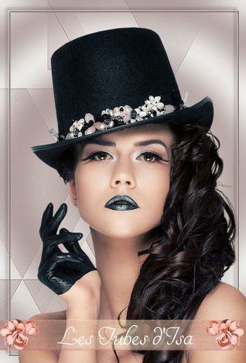 FAC0117 - Tube femme chapeau