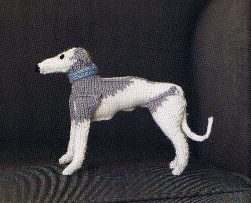 Si mon lévrier tricoté aux aiguille vous plaît...