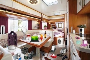 Caravan interior - Hidden objects