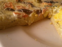 Pizza saumon / anchois