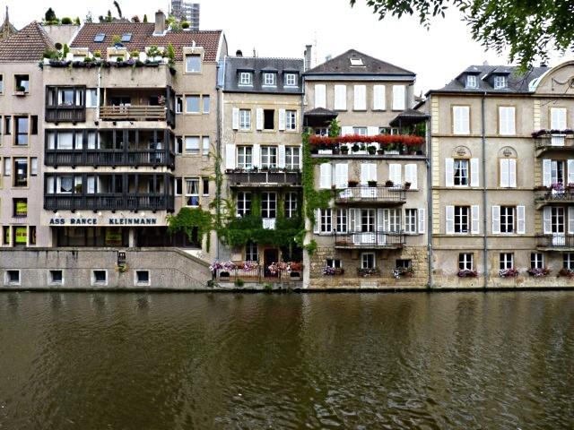 Metz la marina du Port Saint-Marcel - 2