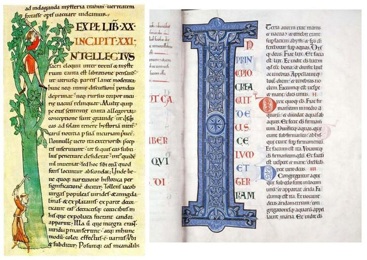Les enluminures cisterciennes