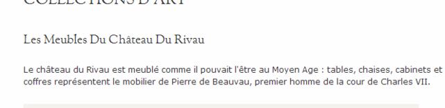 """""""""""  LE CHATEAU du RIVAU  - & ses cultures de CUCURBITACEES."""