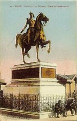 Le souvenir du Duc d'Orléans en Algérie