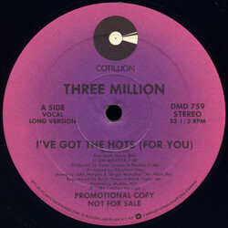 Three Million - I've Got The Hots (For You)